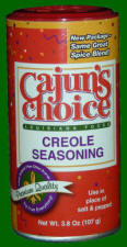 Cajun's Choice Creole Seasoning